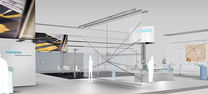 <strong>Siemens</strong> Booth Design